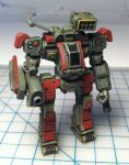 Imperator mech mini painted by Mecha-Zone