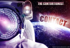 The Contortionist - Contact by Digital-Iconic