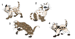 Kitten Litter: Chocolate X Isi by Balance-Song