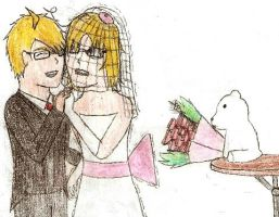 Canada in a Wedding Dress by Haruhi-x