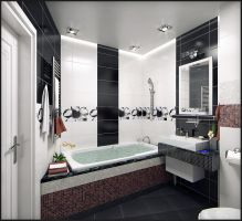 Bathroom interior, view 2 by doubleagent2005