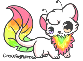 [ DTA draw to adotp ] raimbow totterpole by Sorami23