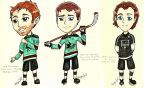 Hockey Chibi Requests 1 by flamingmarshmallows