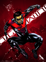 Nightwing Fanart1 by DaveKennedy
