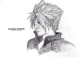 Final Fantasy VII - Cloud Strife by aiRoy17