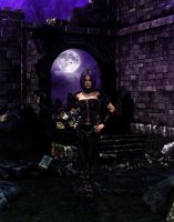 Purple Gothic Nights by AlyssaStar109