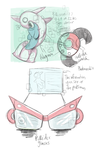Pokedex Concepts for Pokemon Dusk and Dawn by Phatmon66