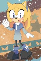 Sonic Postcard - Maria the Hedgehog by destinal