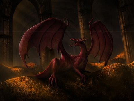 The Great Smaug by rodolfoguerreiro