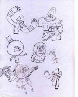 SKETCH and VECT: Regular Show by Aubergine-Jeri
