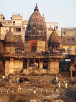 Varanasi India by babsartcreations