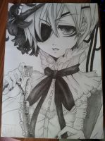 Ciel Phantomhive - Black Butler by DevilChocolatecookie