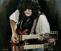 Jimmy Page by Trunnec