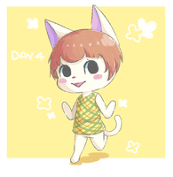 Animal Crossing Drawing Challenge: Day 4 by Oshimizy