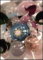Christmas Ornaments by 3Dswed