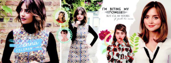 jenna coleman by grapicstyle