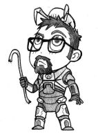 Chibi - Gordon Freeman by ElectroCereal