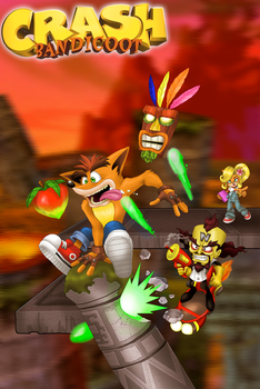 Crash Bandicoot N Sane Trilogy by Zerbear333
