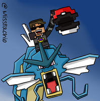 Skydoesminecraft. Ride dat gyarados by Spork-a-licious