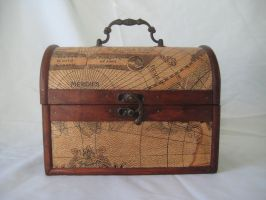 vintage wooden chest 2 by Stock-Tenchigirl15