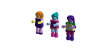 Lego MLP Equestria Girls minifigs: The Dazzlings by SonicTheDashie