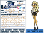 Big Brother DA: Beverly Application by xObey-Jessicax