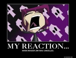Invader Zim Demotivational by Aaliastar