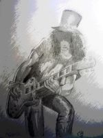 Slash Guitar Solo by aerokay