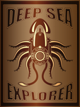Deep Sea Explorer Poster by IllustratorG