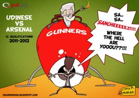 Udinese vs Arsenal by OmarMomani