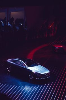 Mercedes Coupe - IAA 2013 by synthes