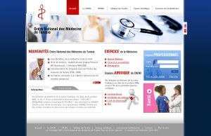 Ordre National des medecins by Webdesignerps