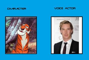 Benedict Cumberbatch as Shere Khan by TroyandFriends