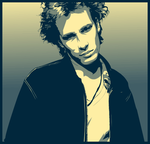 Jeff Buckley in YellowandBlue by verucasalt82