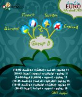 euro 2012 group d by einwi