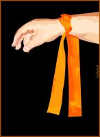 My Orange Ribbon by KeReN-R