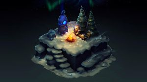 Isometric Winter Night by Sephiroth-Art