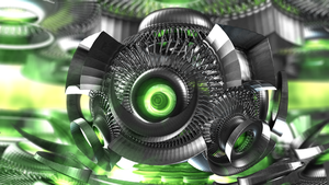 green eye - Mandelbulb3D with Parameter by matze2001