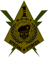 NEST 1st Special Forces Logo 2 by viperaviator