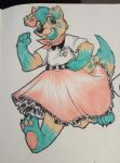 Poodle Skirt by Artisan-Garden
