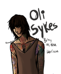 OLI SYKES - BMTH by RainbowDashCat