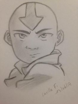 The last airbender by gilbertnythrait