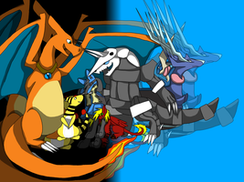 .:Welcome to Kalos - Pokemon X team:. by Dragonfire291