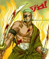 one piece - Roronoa Zoro by shinjyu