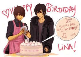HBD Linabrooo by pancake-waddle