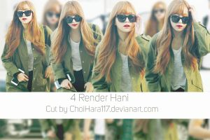Hani EXID Airport PNG Pack by ChoiHara117