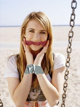 Emma Roberts Manip #1 (Cleave) by poochdude