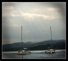 Boats of Insh by Batteryhq