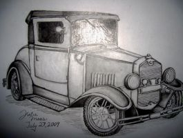 Ford Model T by akina-nicole