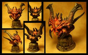 Diablo Statue by VanLogan